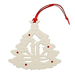 Belleek Living - Christmas Tree ornament