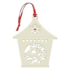 Belleek Living - Belleek Living Christmas Reindeer Lantern.