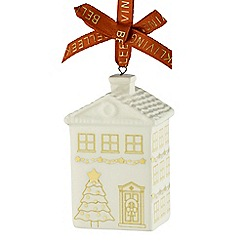 Belleek Living - Georgian house mini ornament