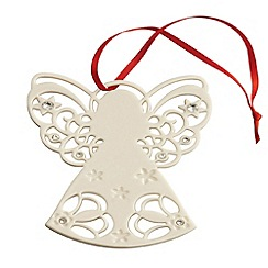 Belleek Living - Belleek Living Christmas Angel with Gems ornament
