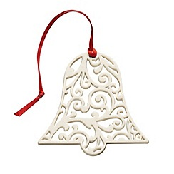 Belleek Living - Belleek Living Christmas Lace Bell Ornament