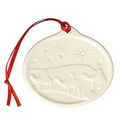 Belleek Living - Belleek Living Christmas Three Kings Hanging Ornament