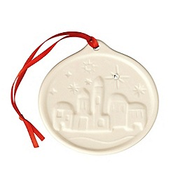 Belleek Living - Belleek Living Christmas Little Town Hanging Ornament