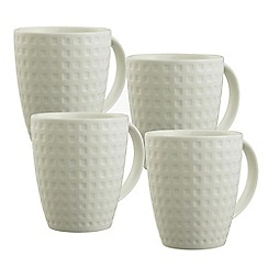Belleek Living - Grafton Set of 4 Mugs