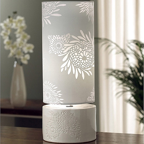 Belleek Living - Ivory Khara Lamp