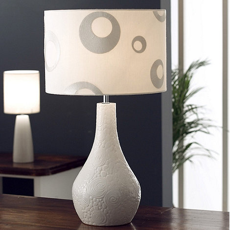 Belleek Living - Ivory Enchante Lamp
