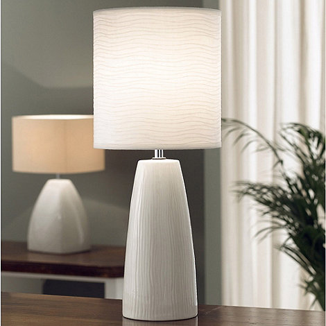 Belleek Living - Ivory Woodland Lamp