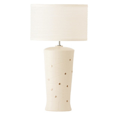 Belleek Living - Ivory Strata Table Lamp