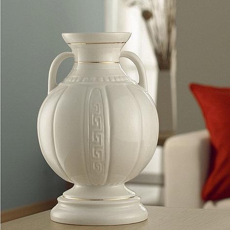 Belleek Living - Ivory +Grecia+ 12 Inch Vase