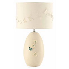 Belleek Living - Butterfly Meadow lamp & shade