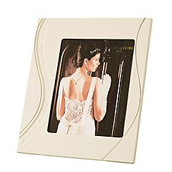 Belleek Living - Silver Ripple 8x10 Photo frame