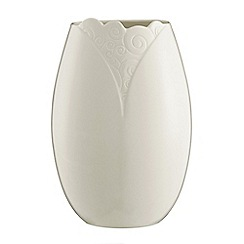 Belleek Living - Swirl 8' vase