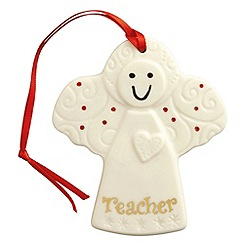 Belleek Living - Belleek Living Christmas Angel for Teacher