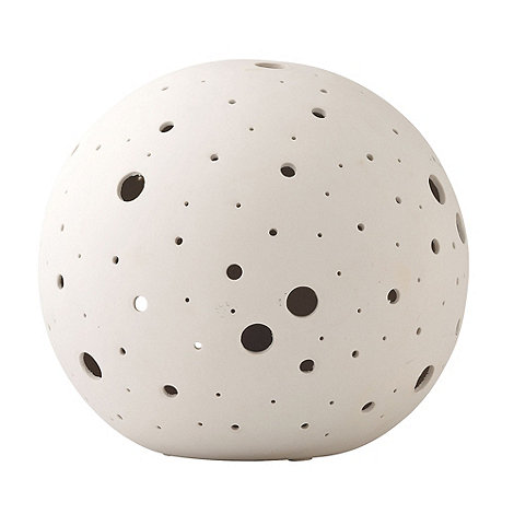 Belleek Living - White Sphere Luminaire