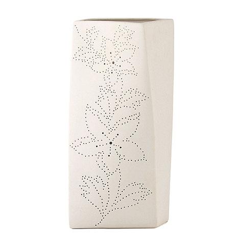 Belleek Living - White Floral Twist Luminaire