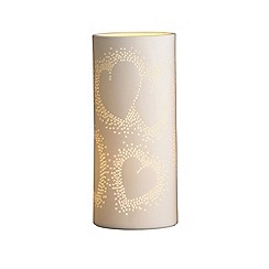 Belleek Living - Heart Luminaire lamp