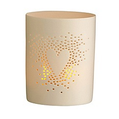 Belleek Living - Heart Luminaire votive