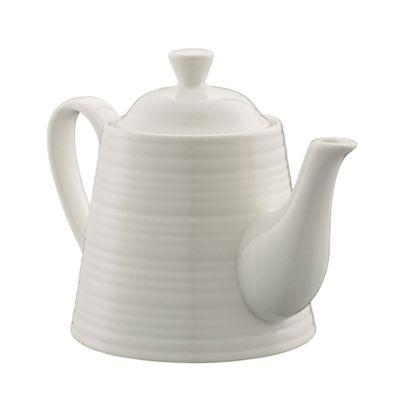 Belleek Living Ripple tea for one