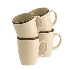 Belleek Living - Cinnamon set of 4 mugs