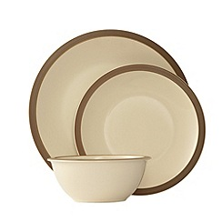 Belleek Living - Cinnamon 12 piece dinner set