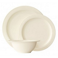 Belleek Living - Silhouette 12 piece porcelain dinner set