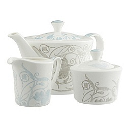 Belleek Living - Novello teapot, sugar and cream Set