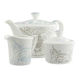 Belleek Living - Novello teapot, sugar and cream Set