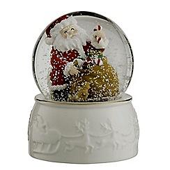 Belleek Living - Santa Snowglobe