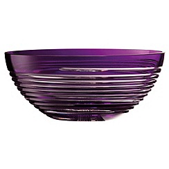 Galway Crystal - Galway Crystal Amethyst Solace 11' bowl