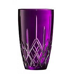 Galway Crystal - Galway Crystal Amethyst Longford 10' vase