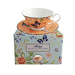Aynsley China - Cottage Garden windsor teacup and saucer