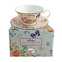 Aynsley China - Cottage Garden windsor teacup and saucer