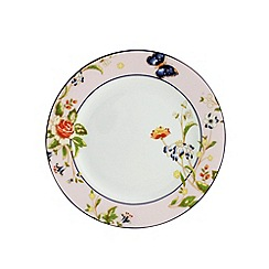 Aynsley China - Cottage Garden set of 4 pink side plates