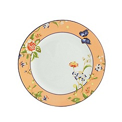 Aynsley China - Cottage Garden set of 4 orange side plates
