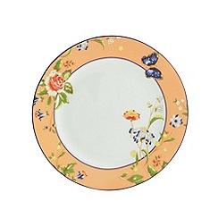Aynsley China - Cottage Garden set of 4 orange side plates