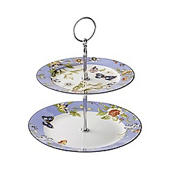 Aynsley China - Cottage Garden Two Tiered Server