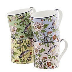 Aynsley China - Pembroke Windsor Set of 4 Mugs