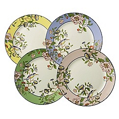 Aynsley China - Pembroke Windsor Set of 4 Plates