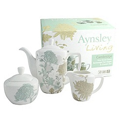 Aynsley China - Cambridge Beverage Pot, Sugar and Cream set