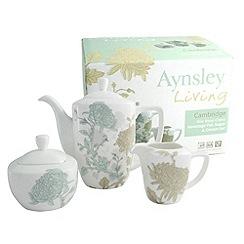 Aynsley China - Cambridge Beverage Pot, Sugar and Cream set