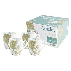 Aynsley China - Aynsley Cambridge 4 mug set.