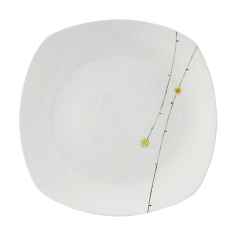 Belleek Living - White Daisy chain dinner plate