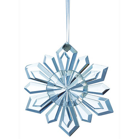 Galway Living - Crystal +Hanging+ Christmas Snowflake ornament