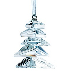Galway Living - Crystal 'Hanging' Modern Christmas Tree ornament
