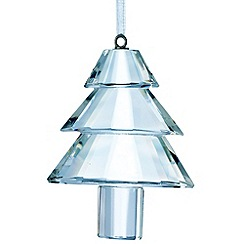 Galway Living - Crystal 'Hanging' Traditional Christmas Tree ornament