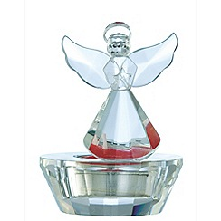 Galway Living - Crystal 'Ice' Angel Votive