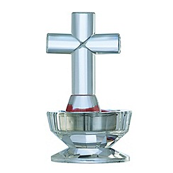 Galway Living - Crystal 'Ice' Cross Votive