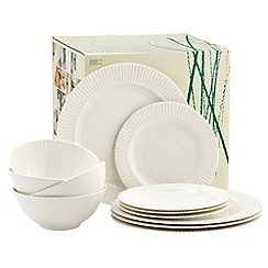 Belleek Living - Ivory Lines 12 Piece Box Set