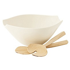 Belleek Living - Lines salad bowl and servers
