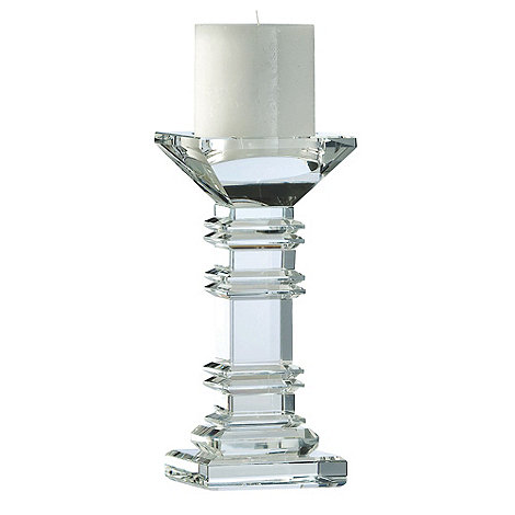 Galway Living - Crystal +Majestic+ Candleholder 8inch